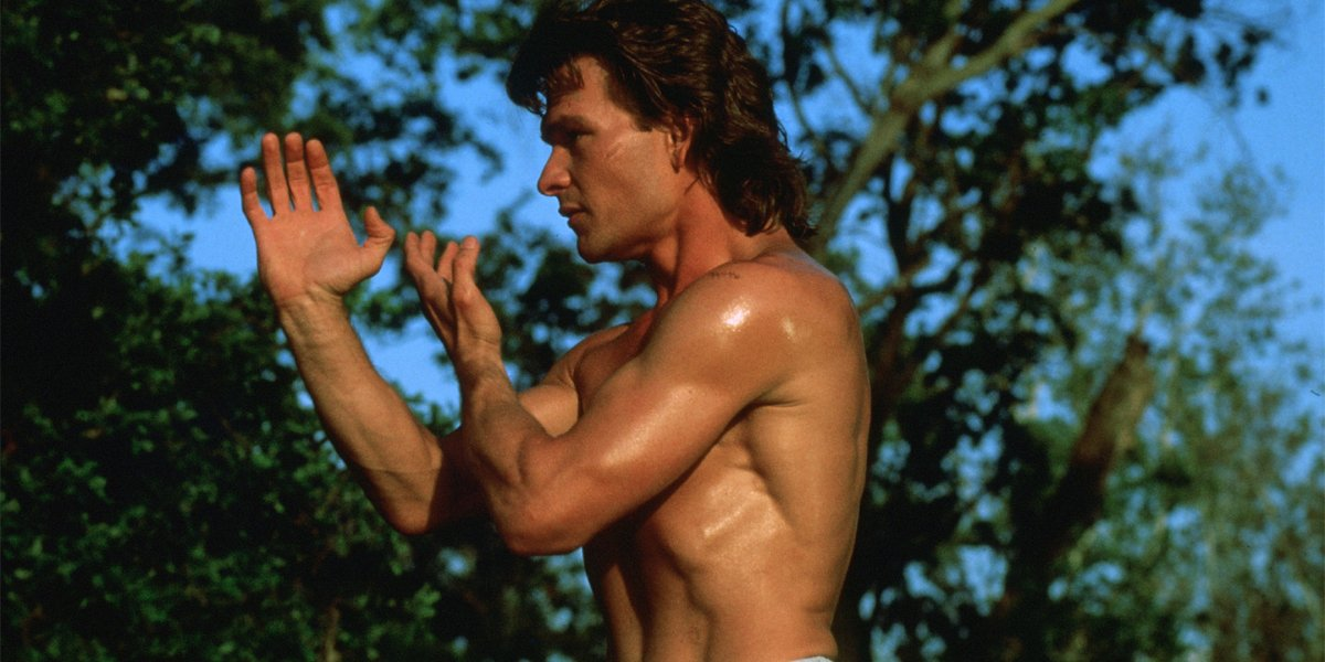 Patrick Swayze in Road House doing Tai Chi