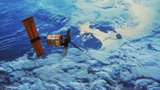 The European Remote Sensing satellite (ERS-1) was put into orbit on 17 July 1991.