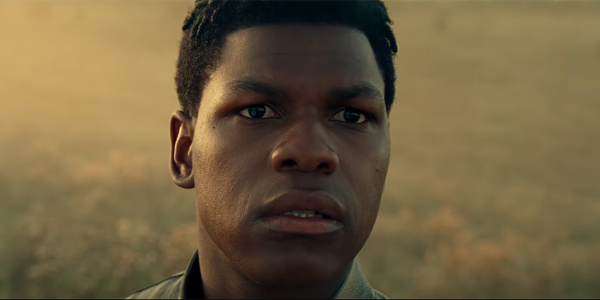 Finn in Star Wars: The Rise of Skywalker