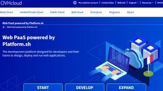OVHcloud Web PaaS powered by Platform.sh