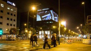 LumenAd, a Seville, Spain-based advertising company, has recently begun deploying two Christie Crimson laser projectors in its projects with digital out-of-home (DOOH) media.