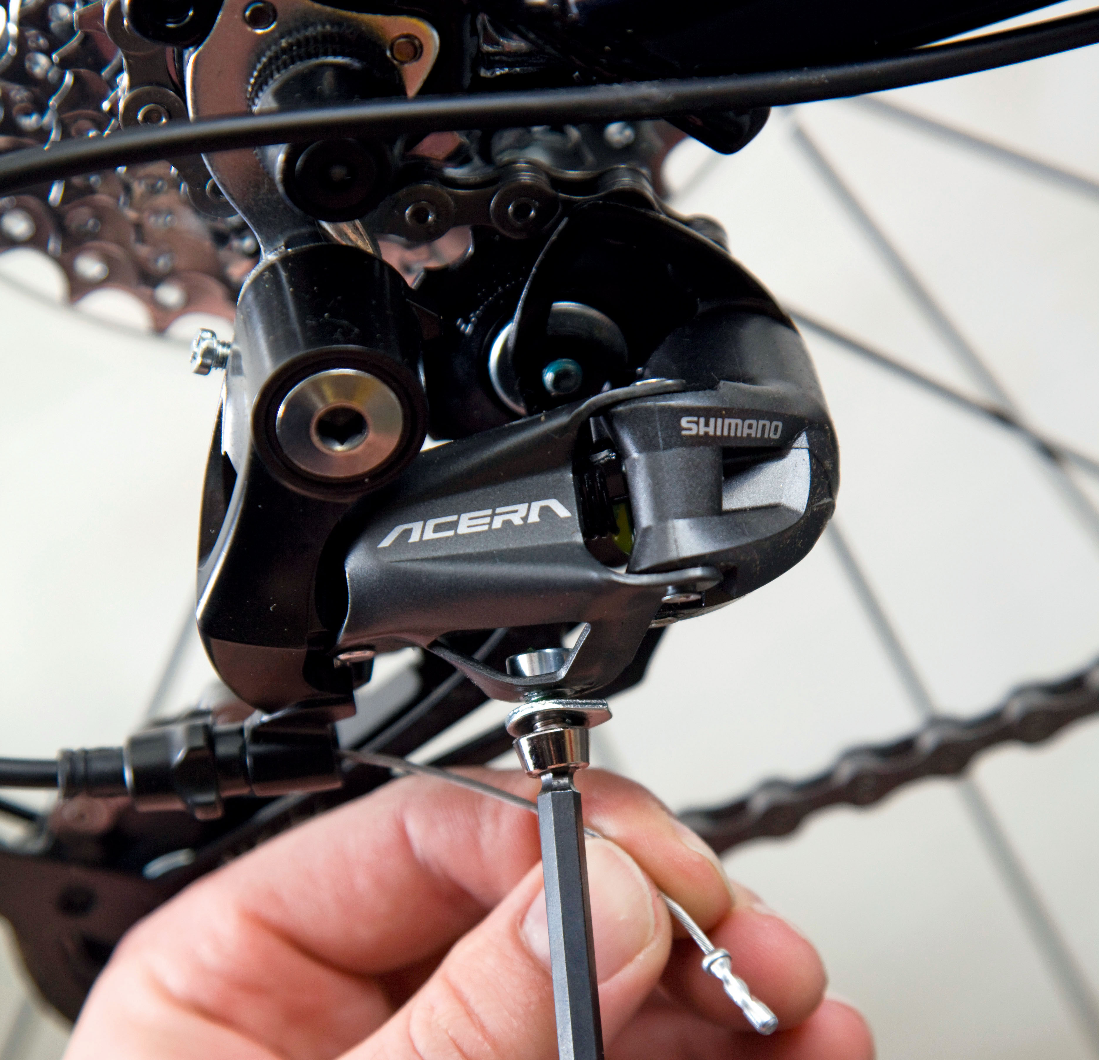 How to adjust your front and rear derailleurs (videos