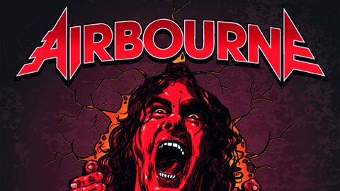 Airbourne album cover 'Breakin' Outta Hell'