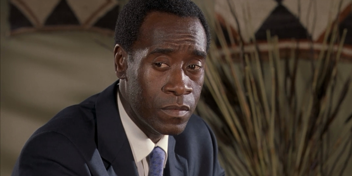 Don Cheadle in Hotel Rwanda