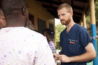 image shows dr. kent brantly