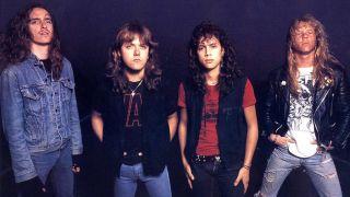 Metallica in the 80s