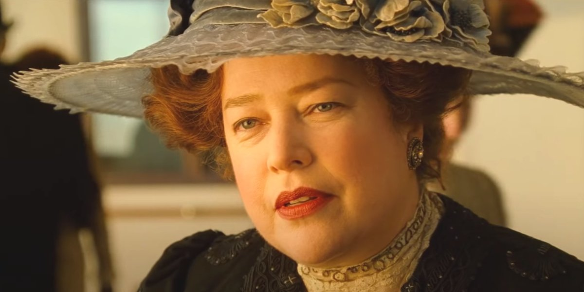 Kathy Bates in Titanic