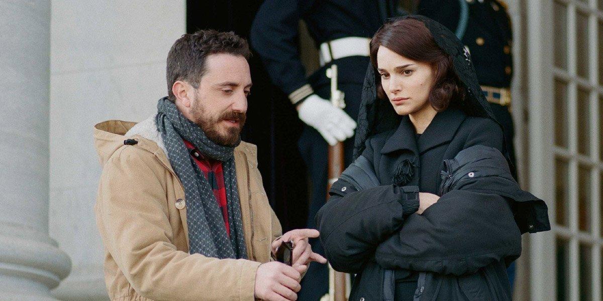 Pablo Larrain directing Jackie