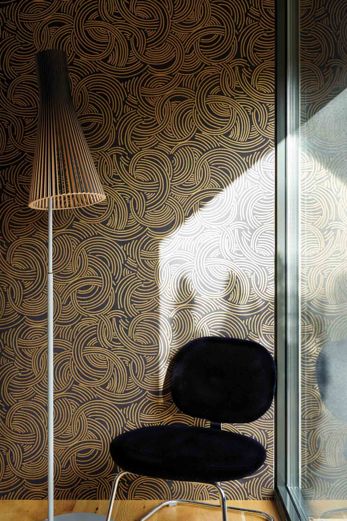 Beautiful New Metallic Wallpapers From Farrow Ball Livingetc