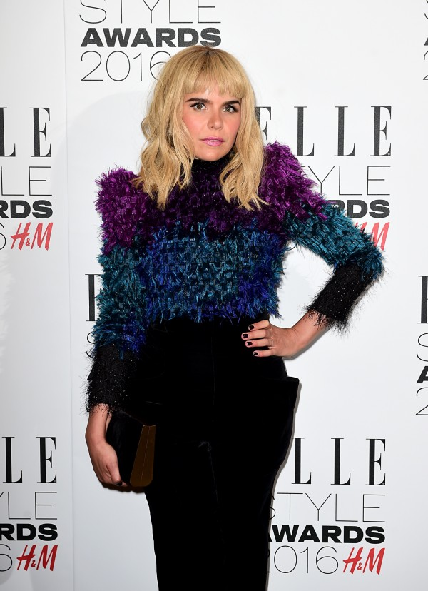 Paloma Faith's outfit was unusual, and interesting