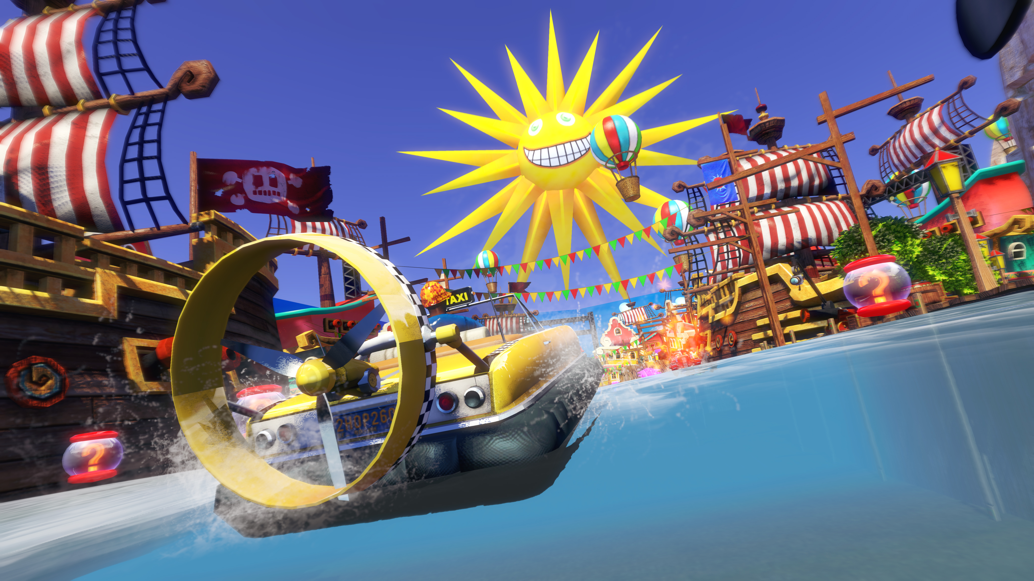 best co-op pc games: Sonic & All-Star Racing Transformed