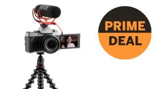 Fujifilm X-T200 Vlogger Kit (with lens, mic, GorillaPod + 16GB card) just £599!