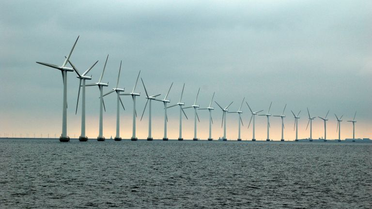 wind farm offshore sea