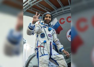 Hazzaa Ali Almansoori, the first astronaut for the United Arab Emirates.
