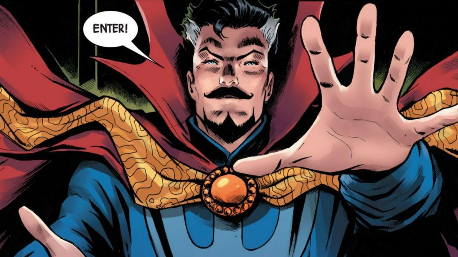 Extracto de la muerte del Doctor Strange # 1