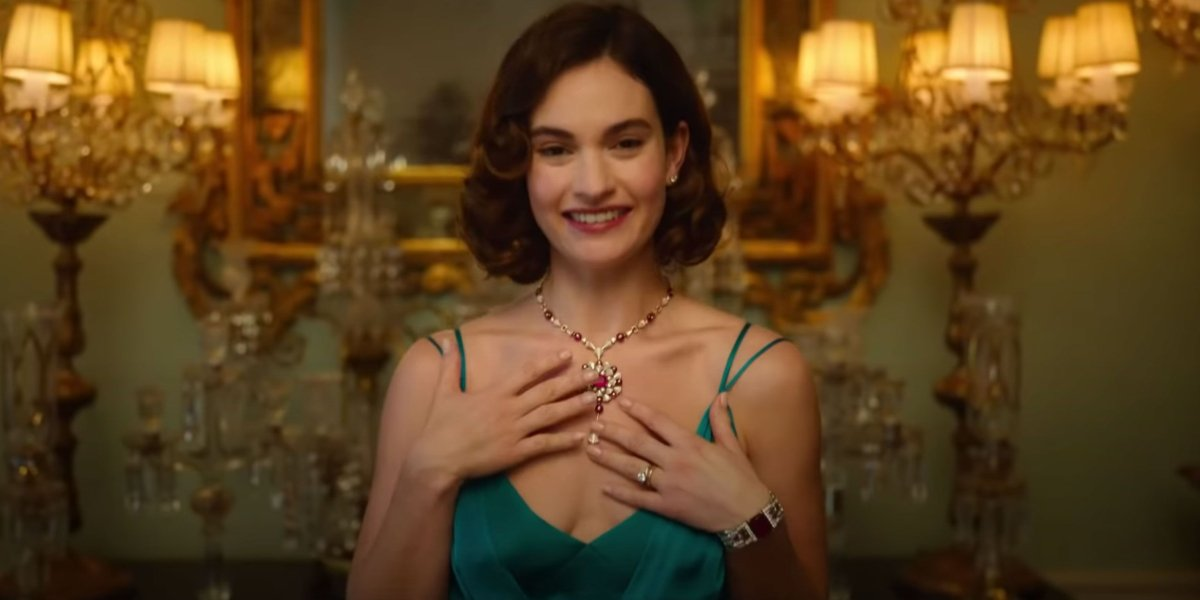 Lily James in The Pursuit of Love
