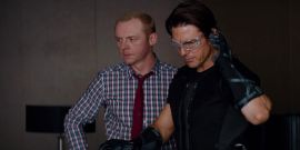 As Mission: Impossible 7's Simon Pegg Returns To Set, He Shared A Sweet Throwback To Filming With Tom Cruise A Decade Ago