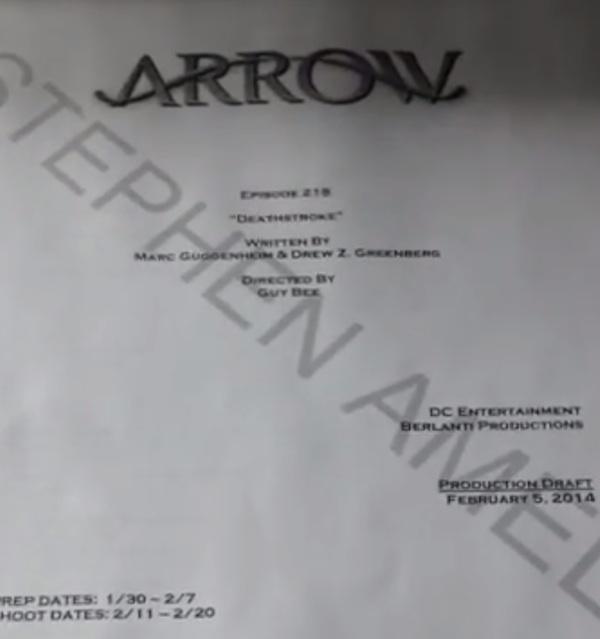 Deathstroke script
