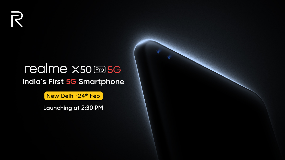 Realme X50 Pro 5G to launch in India on February 24