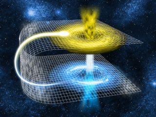 Folding of Space-Time
