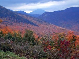 Fall foliage in New Hampshire.