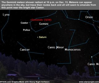Strong Meteor Shower Peaks Monday Night