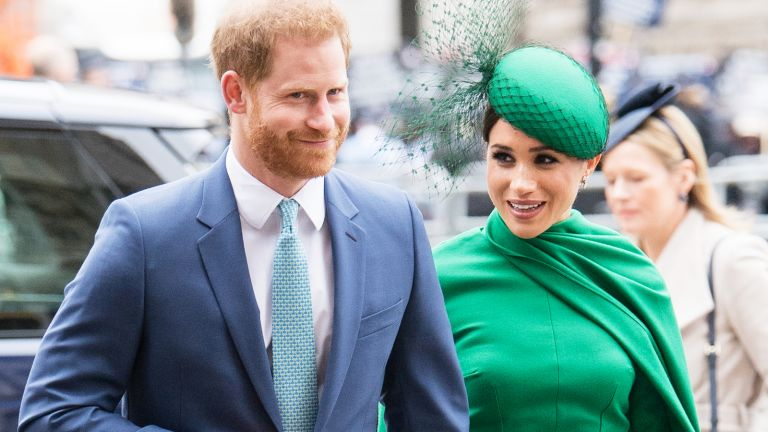 Harry and Meghan in London