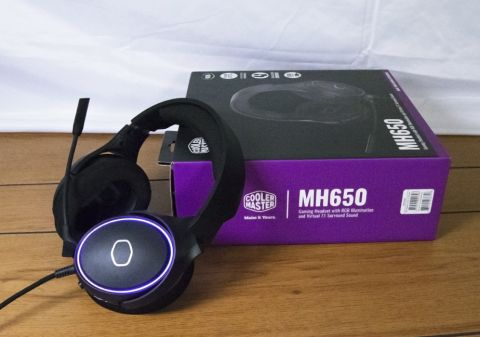 Cooler Master MH650 Gaming Headset Review: Loud Speakers