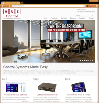 High Resolution Systems Debuts Expanded HRS Control Website