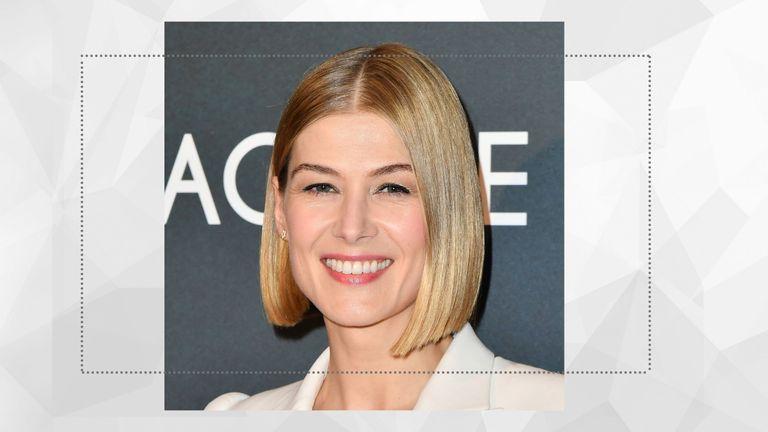 short hairstyles for women main image rosamund pike bob