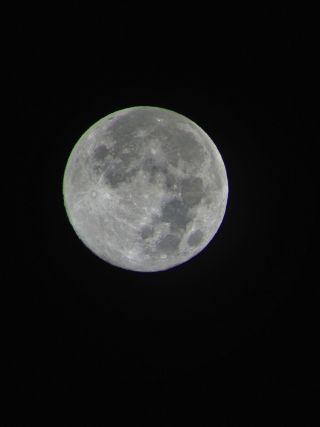 August 2012 Full Moon Seen in Hawaii
