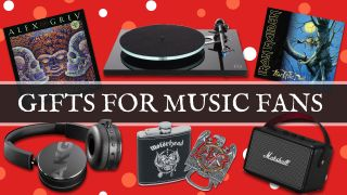 The best gifts for music lovers: killer present ideas for rock fans and metalheads