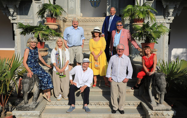 The Real Marigold Hotel, group