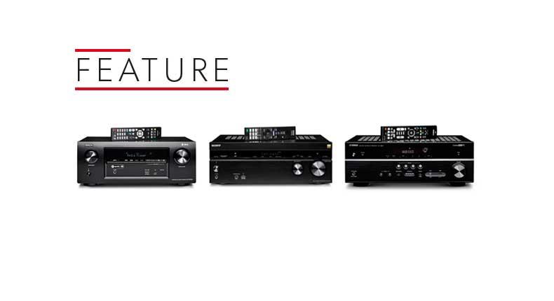 Denon AVR-X2400H vs Sony STR-DN1080 vs Yamaha RX-V583