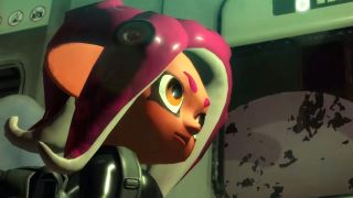 Agent 8, the new octoling character in Splatoon 2.