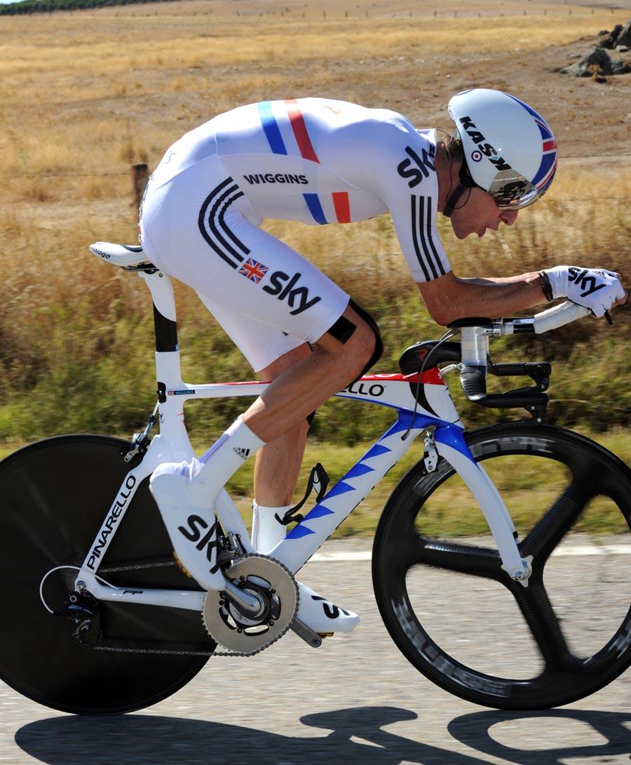Bradley Wiggins, third on stage, Vuelta a Espana 2011, stage 10 ITT