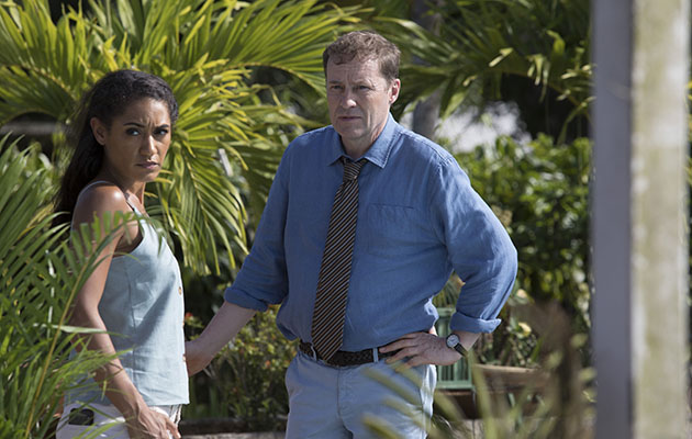 Death in Paradise - Jack and Florence together in episode four