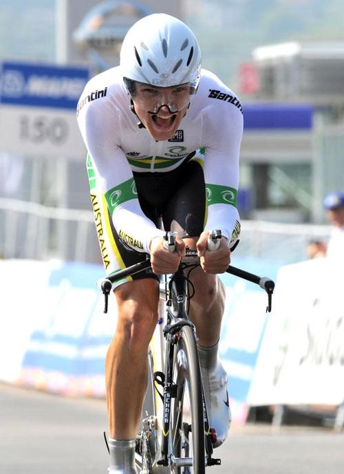 Jack Bobridge, Under-23 Men TT, World Championships 2009