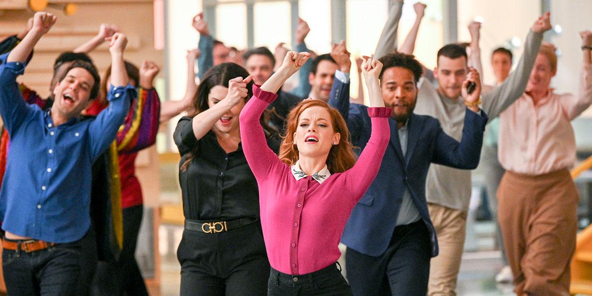 Zooey's Extraordinary Playlist dancing scene courtesy of NBC