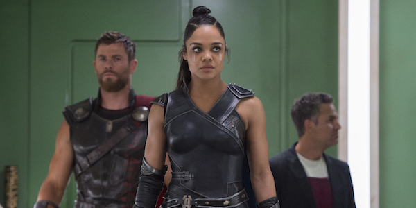 Tessa Thompson as Valkyrie in Thor 3