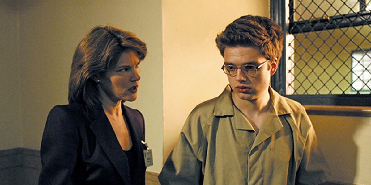 Carolyn McCormick and Sebastian Stan in Law and Order