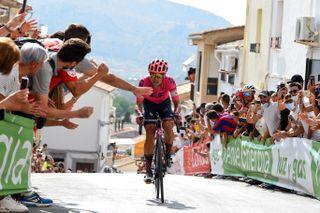 Vuelta Espana 2021 76th Edition 11th stage Antequera Valdepenas de Jaen 1336 km 25082021 Magnus Cort Nielsen DEN EF Education Nippo photo Dario BelingheriBettiniPhoto2021