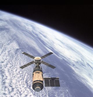 The Skylab Orbital Workshop experienced a failure that led to a replacement shield to protect against solar heating.