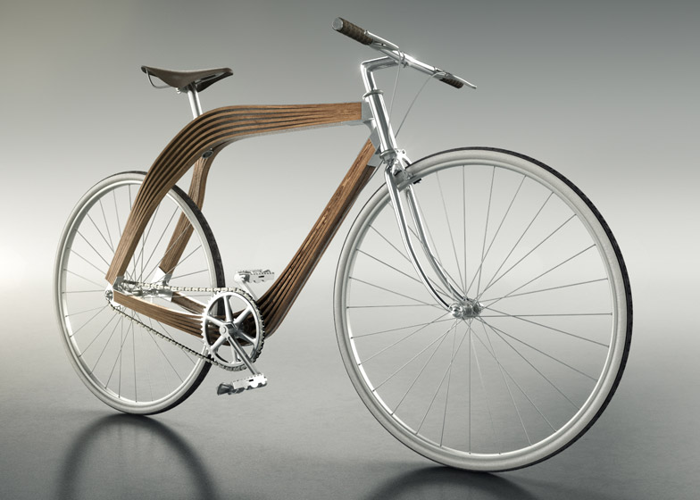 New prototype wooden bicycle to be used as a test for structural ...
