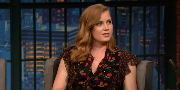 Amy Adams the late show with seth meyers