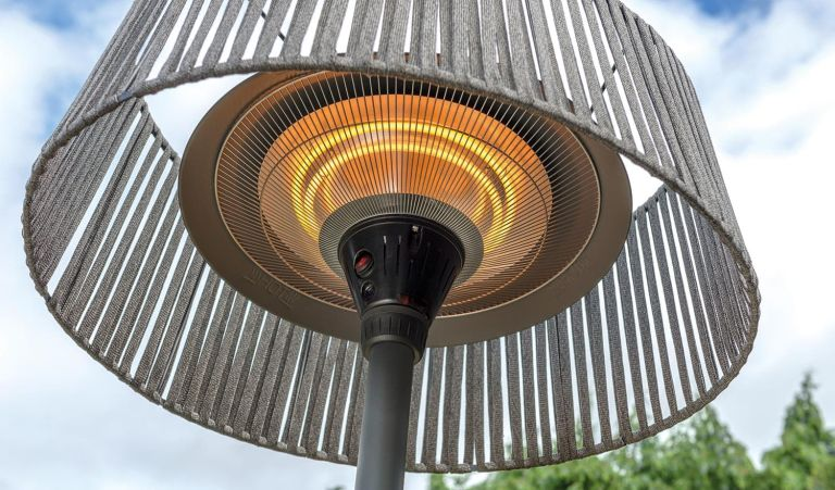 Best patio heater: Kettler Kalos Plush floor patio heater