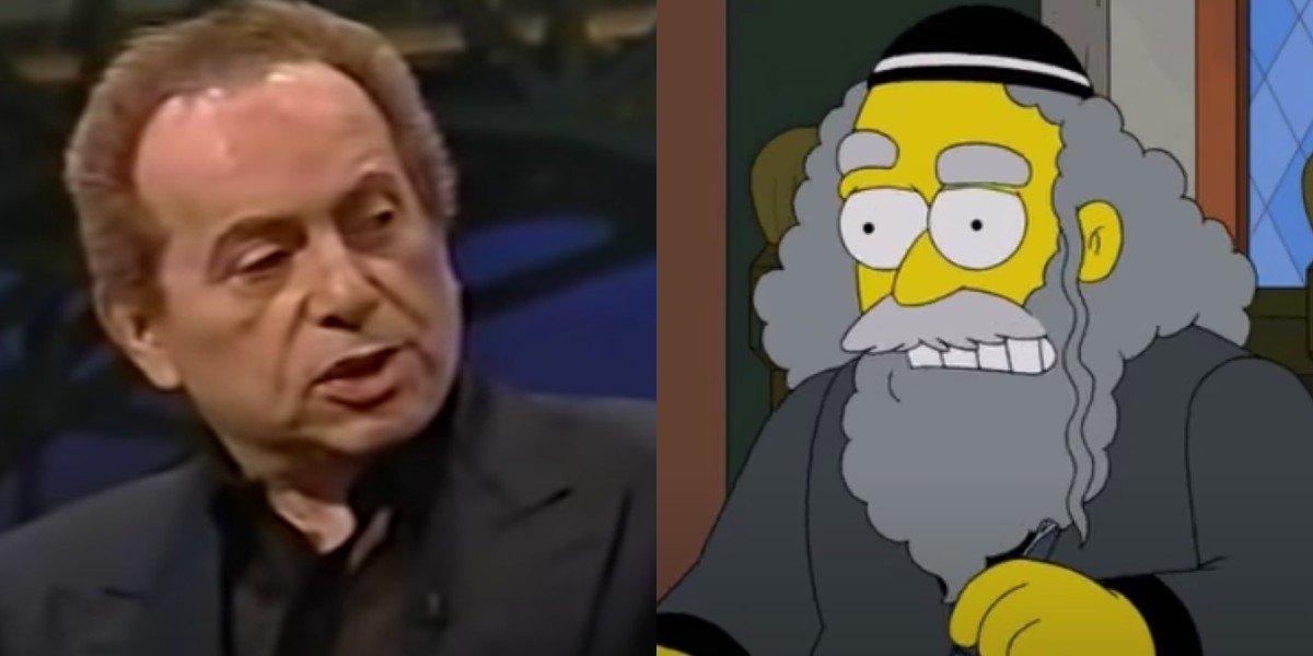 Jackie Mason and Rabbi Hyman Krustofsky