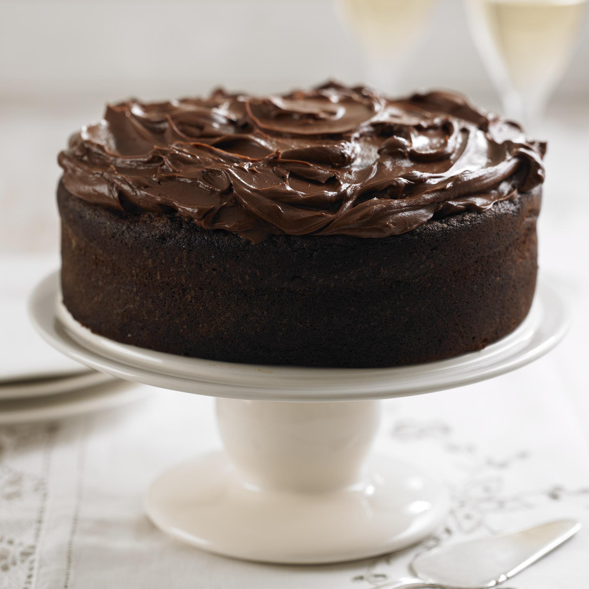 Dark Chocolate Fudge Cake Dessert Recipes Woman Home
