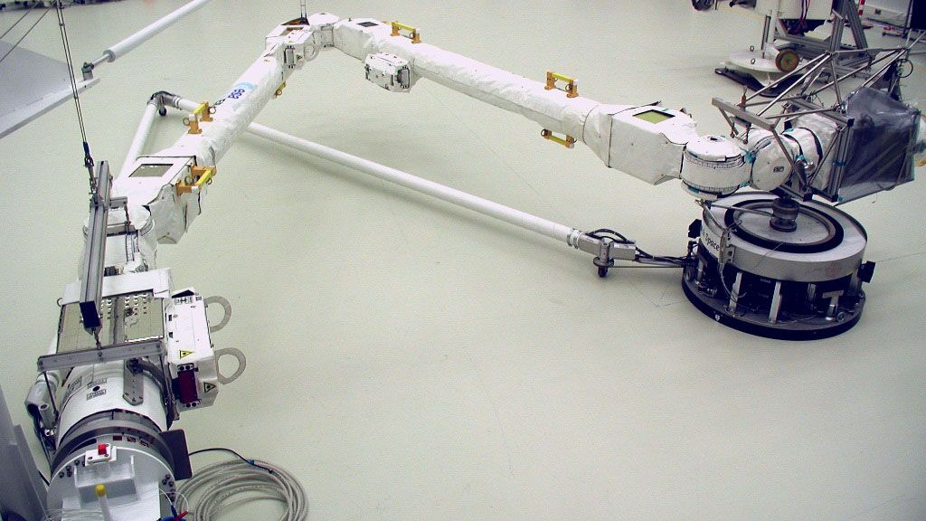 Europe will launch a new two-handed robotic arm to the International Space Station soon