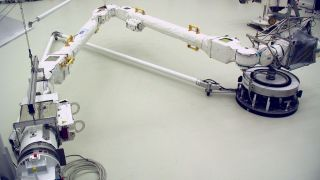 The European Robotic Arm will service the Russian segment of the International Space Station.